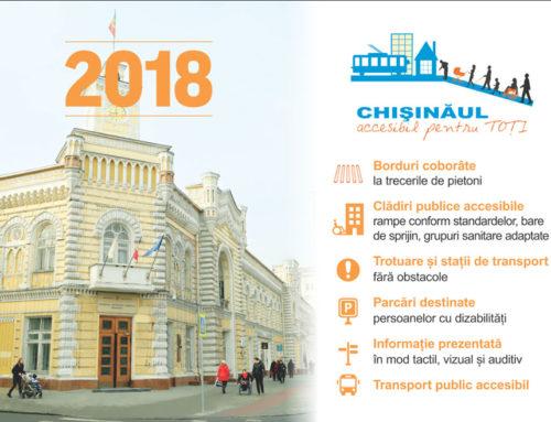 Chișinăul accesibil pentru toți