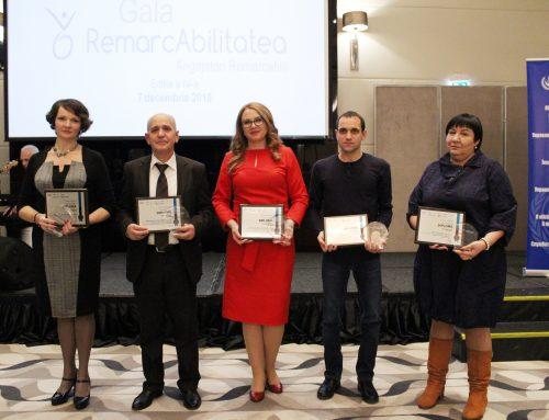 Cinci angajatori au fost premiați în cadrul Galei RemarcAbilitatea (Ediția a IV-a 2018)
