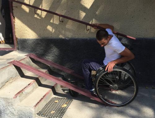 Mobilizarea persoanelor cu dizabilități din raionul Căușeni pentru cooperarea cu autoritățile publice locale privind accesibilizarea comunității lor