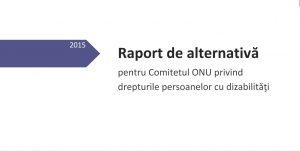 raport de alternativă 2015