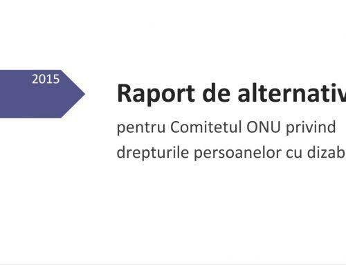 Raport de alternativă CRPD