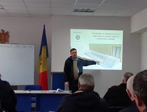 Arhitecții și inginerii în construcții din Moldova și-au edificat cunoștințele în domeniul accesibilități clădirilor și spațiilor publice