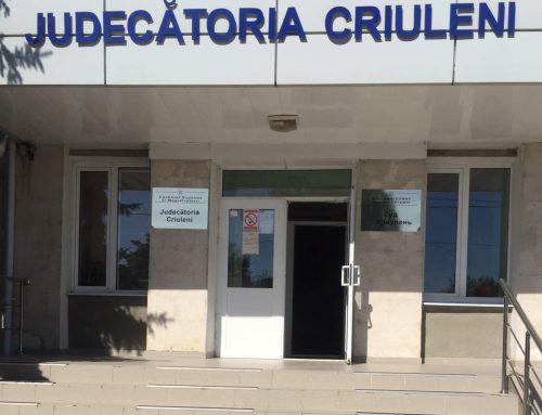 CDPD a evaluat accesibilitatea Judecătoriei Criuleni (sediul central)