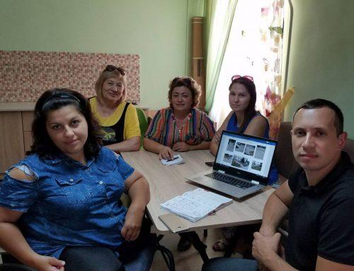 Ședința comună a grupului de inițiativă din Ceadîr-Lunga și a reprezentaților CDPD privind accesibilizarea spațiului urban.