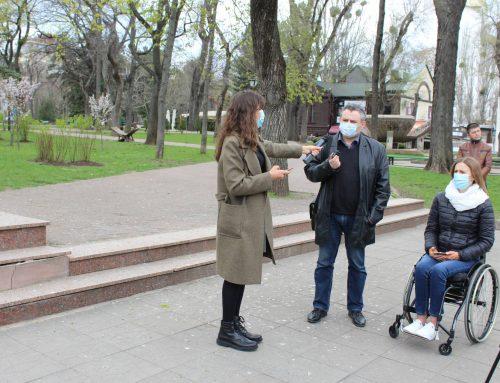 Primăriei Chișinău i-a fost recomandat ca în procesul de renovare a Grădinii Publice Ștefan cel Mare și Sfânt să asigure căi accesibile pentru toți vizitatorii